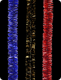 Новогодняя мишура «Флекс» (200х2,5 см)