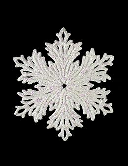 Подвеска Снежинка 13 см